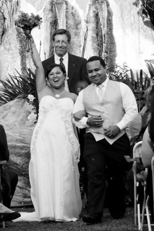 This was such a happy moment at our wedding: May 13, 2011
