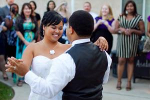 My husband and I during our first dance: May 13, 2011